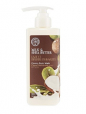 The Face Shop MILK & SHEA BUTTER CREAMY BODY WASH гель для душа 8806182535055