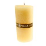 Organique свечка ароматерапевтическая Пинаколада (желтый)