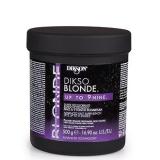 Dikson Dikso BLONDE 1. усиленнный антижелтый порошок для осветления с маслом пшеницы, освет. до 9 уровней 500 мл 8000836111026