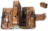 Zauber MS-167G Маникюрный Набор чемодан золотой