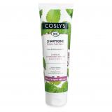 Coslys Шампунь для жирных волос с органической перечной мятой OILY HAIR SHAMPOO WITH ORGANIC