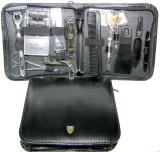 Kellermann 6335 М Набор (ножницы, пилочка, пинцет, кусачки-2, станок с касетами Mach 3, зубная щетка. расческа)