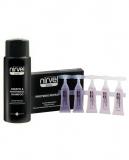 Nirvel 6618 Basic Набор шампунь(кератин+пантенол250мл+ампулы 10*10мл)