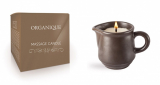 Organique свечка ДЛЯ SPA-массажа коричневая керамика (с ручкой) – GUARANA 125мл 5906713242391