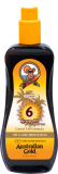 Australian GOLD SPF 6 Spray OIL With carrot для загара на солнце 237ml