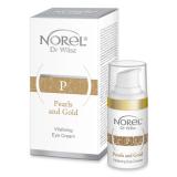 Norel DZ 051 Pearls and GOLD - Vitalizing Anti-Age eye emulsion– восстанавливающая эмульсия с коллоидным золотом для периорбитальной области 15мл