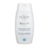 Norel DZ 052 Peeling shower gel with anti-cellulite complex – эксфолиирующий гель для душа с антицеллюлитным комплексом 250мл