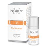 Norel DZ 292 MultiVitamin – Brightening eye cream - витаминный крем для сухой, обезвоженной кожи, убирает темные круги под глазами 15мл