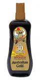 Australian Gold Spray Gel bronzer SPF 30+ Спрей-Гель с фактором защиты 30 и бронзаторами для загара на солнце