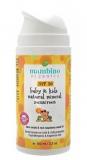 Mambino Organics детский натуральный минеральный СолнцеЗащитный крем SPF 30 Baby and kids natural mineral