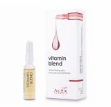 Alex Cosmetic VITAMIN BLEND Мощный витаминный концентрат для зрелой и уставшей кожи 7x1.5 ml