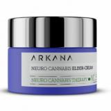 Arkana NeuroCannabis Elixir-Cream - активный концентрат для гиперчувствительной кожи, нейрорегулирует микробиом кожи 50 ml