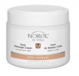 Norel Body massage cream - cocoa and chilli - массажный крем для тела с какао и перцем чили 500мл