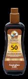 Australian Gold SPF 50 spray gel bronzer 237ml Водостойкий легкий спрей-гель с бронзатором