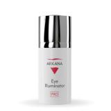 Arkana 33022 Eye Illuminator - осветляющий крем для кожи вокруг глаз с транексамовой и лактобионовой кислотами и стабильным витамином С, осветляет темные круги под глазами и укрепляет стенки кровеносных сосудов 15мл