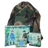 Fragonard Набор Eau des Aventuriers (spray 50 ml + rucksack + case)