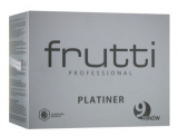 Frutti Di Bosco Frutti Prof Platiner Обесцвечивающая пудра с бамбуковым углем, до 9 тонов, 500 гр 5905669435789
