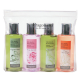Fragonard 4NG0701 4 MINI PERFUMED SHOWER GELS 4x70