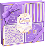 Grace Cole LAV1813004 Набор Lavender & Honeysuckle Tiny Treasures жен. ((soap 4x100g)) 5055443672227