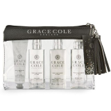 Grace Cole WNP2232029 Набор Travel Set White Nectarine & Pear жен., (Hand & Nail Cream 30ml+Bath & Shower Gel 100ml+Hand & Body Lotion 100ml+Body Mist 100ml+косметичка) 5055443697510
