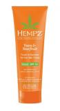 Hempz Touch of Summer Fair Moisturiser SPF30 Yuzu and Starfruit Солнцезащитный крем SPF 30 для светло-й кожи Юзу усиливающий оттенок загара 200 676280029156