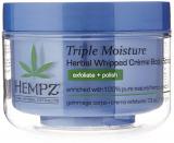 Hempz Triple Moisture herbal Whipped Creame Body Scrub увлажняющий скраб для тела тройного действия 176g 676280022157
