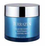 Интенсивно увлажняющая ночная маска для лица с отбеливающим эффектом Terrazen AQUA RECHARGE WHITENING SLEEPING MASK 80ml