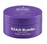 Lee Stafford Тонизирующая маска для нейтрализации желтых оттенков Bleach Blondes Purple Reign Toning Treatment.200 мл 5060282702660