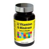 LIDK37 NUTRI EXPERT 22 ВИТАМИНА И МИНЕРАЛА / 22 VITAMINES & MINERAUX, 60 капсул функциональные витамины и нутрицевтика NUTRIEXPERT