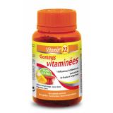 Vitamin 22 LIDK57 Витамин22 ГАММИЗ МУЛЬТИВИТАМИНЫ, 60 жевательных витаминов функциональные витамины и нутрицевтика VITAMIN22