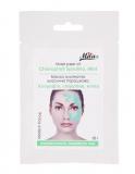 Mila Альгинатная маска Хлорофилл спирулина, мята (холодная маска, сужение пор, себорегуляция, увлажнение, успокоение) 250мл