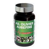 LIDK40 NUTRI EXPERT ЧЕСНОК ЛИСТ ОЛИВЫ ЦВЕТЫ БОЯРЫШНИКА / AIL OLIVIER AUBEPINE - нормализует артериальное давление, 60 капсул функциональные витамины и нутрицевтика Сила и мускулы
