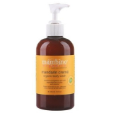 Mambino Organics Mam Органический крем-Гель для душа с маслом мандарина, 240 мл / Mandarin Creme Organic Body Wash 240ml 892201002125