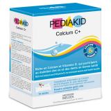 PK12 PEDIAKID ПЕДИАКИД КАЛЬЦИЙ С+ для укрепления и роста костей и зубов / PEDIAKID CALCIUM C+ упаковка 14 стиков