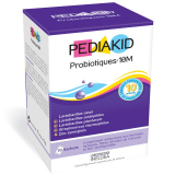 PK13 PEDIAKID ПЕДИАКИД ПРОБИОТИКИ-10М для восстановления микрофлоры кишечника / PEDIAKID PROBIOTIQUES-10M упаковка 10 саше
