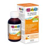 PK05 Pediakid Сироп для здорового физического развития: 22 витамина и олиго-элемента / 22 VITAMINES & OLIGO-ELEMENTS SIROP