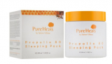 Pureheal's Pureheals Propolis 80 Sleeping Mask Ночная увлажняющая маска для лица с экстрактом прополиса 80 100 мл 8809485337364