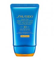 Shiseido Крем для лица и тела Expert Sun Aging Protection Cream Plus солнцезащитный SPF30, антивозрастной 50ml