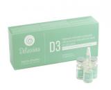 Delta Studio укрепляющее средство для профилактики выпадения волос при жирной кожи (DETOXINA D3 – COFANETTO DA) 12х6 ml