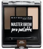 Maybelline Тени 3-цветные компактные для бровей Brow Design Kit NU