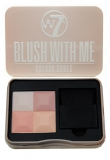 W7 BLUSH WITH ME Color Cubes 4-х цв.румяна 8.5гр